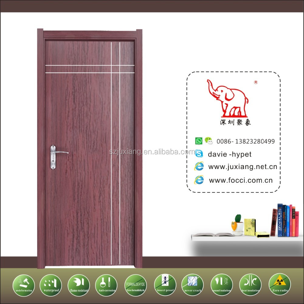 Made in China Zero formaldehypde 100% water proof wpc <strong>door</strong>