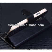 FL3170 2013 Guangzhou hot selling black Leather Pouch mobile phone cover for Samsung Galaxy S4 4 IV I9500 case