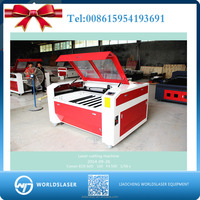 6090 laser engraving cutting machine with optional auto focus, air fan and cooling system and cylinder graving