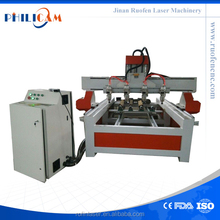 Jinan ATC woodworking multifunction combination machine with multi heads