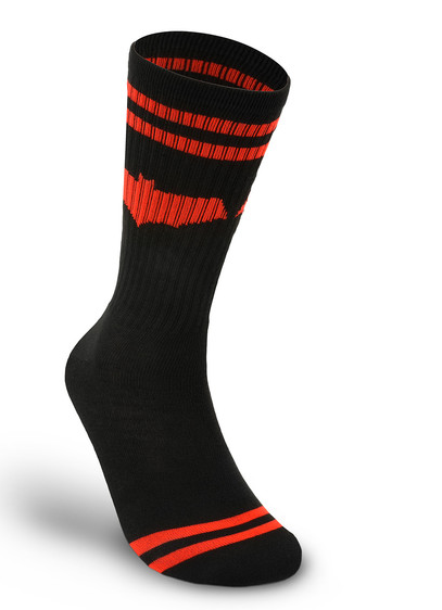 Red Hood Symbol Crew Socks