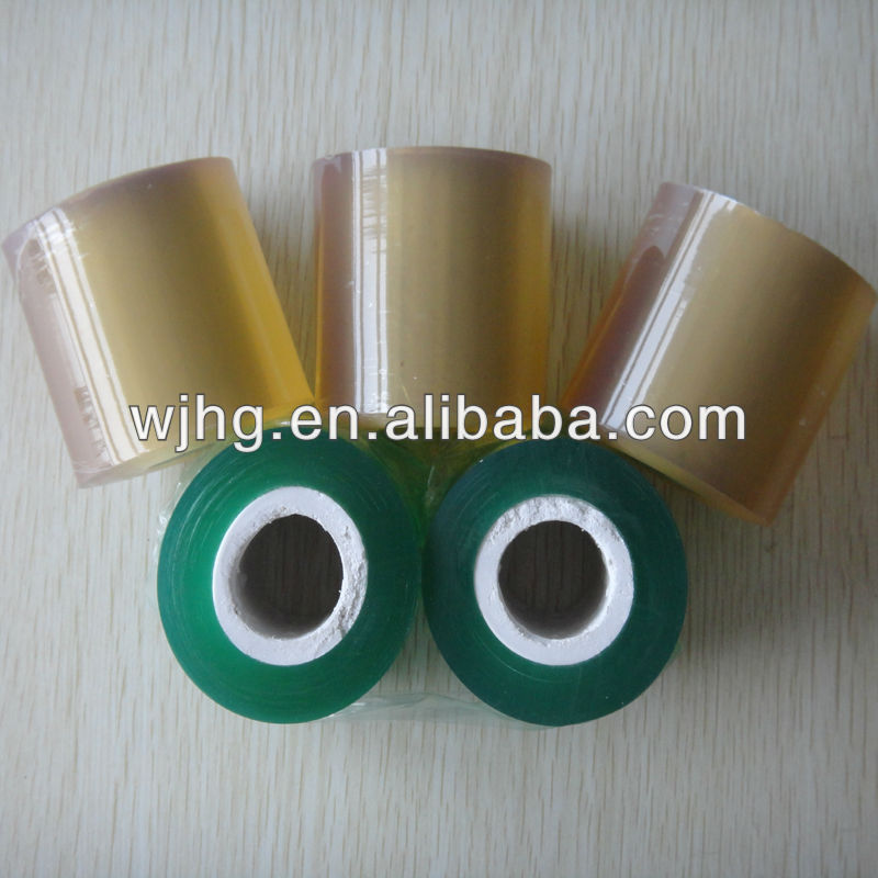 Transparent PVC Hot Film Blue For Wrapping Wires