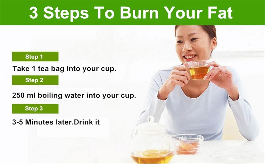 Hot Sale Chinese Herbal Slimming Tea Green Tea From Natural Healthy Herb Mixtures Weight Loss Tea
