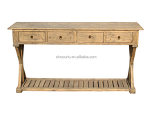 wholesale furniture china living room console table cross leg table