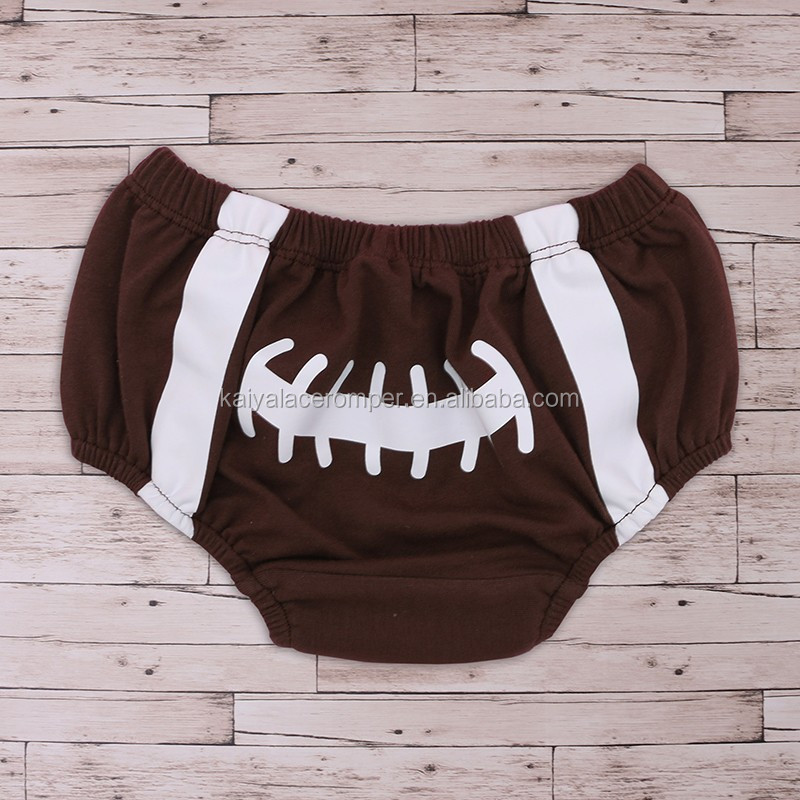 Football Baby Diaper Cover Newborn Baby Boy/Girl Cotton Bloomer