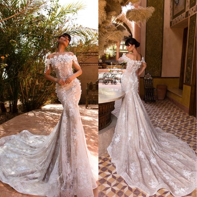 DS-01 Luxury Mermaid Wedding Dresses