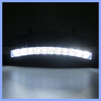 Super Bright 11 LED Hat Cap Clip Light Camping Fishing Clip Hat Visor Light Lamp Emergency Light Headlamp