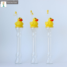 350ml yellow duck cartoon plastic yard cups