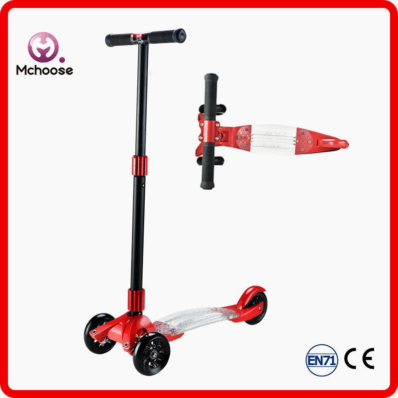 Fashion folding kids plastic scooter bug With CE certificates