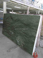 Polished Chinese green marble stone