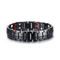 Stainless Steel Energy Magnetic Health Bracelet with germanium ions