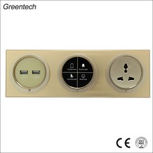 3 Conjoined Hotel Smart Wall Touch Switch