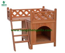 Wooden Cat House & Small Dog House