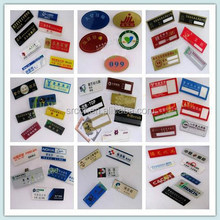 customized acrylic house number and name plaques