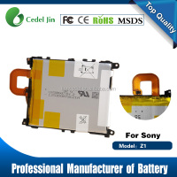 3.8V 3000mAh smart phone battery for Sony Xperia Z1 Battery L39H Battery