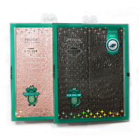 Special discount crocodile lines leather smart cover for iPad Air