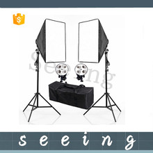 Photo Studio Video Luci <span class=keywords><strong>Kit</strong></span> <span class=keywords><strong>Fotografia</strong></span> due 200 cm Light Stand + due 50x70 cm Softbox studio continuo Lignting <span class=keywords><strong>kit</strong></span>