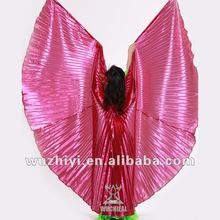 Rose Belly Dance Isis wings in stage performance (DJ1008)