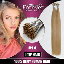 Forever aaa quality 26 inch straight indian remy hair fusion prebonded hair extension