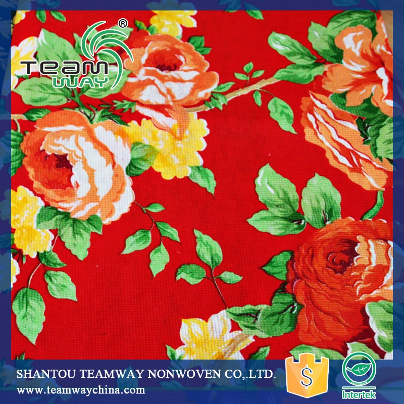 Printed Stitchbond Nonwoven for Mattress 01