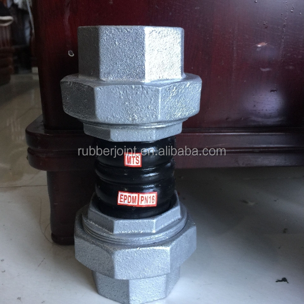 standard type threaded connections epdm rubber pipe tee joints