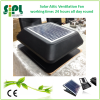 Greenhouse air circulation solar exhaust fan