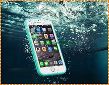 Waterproof Shockproof Hybrid Rubber TPU Phone Case 360 Full Cover For iPhone 7 plus