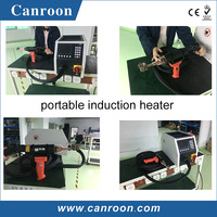 easy operation 10kw to 50kw portable metal brazing hardening induction heater with digital control