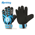 Children Adult Professional Goalkeeper Gloves Manufacturer Football Gloves with Finger Protection Soccer Goal