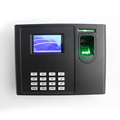 TCP/IP built-in backup battery fingerprint access control system time attendance with web server software