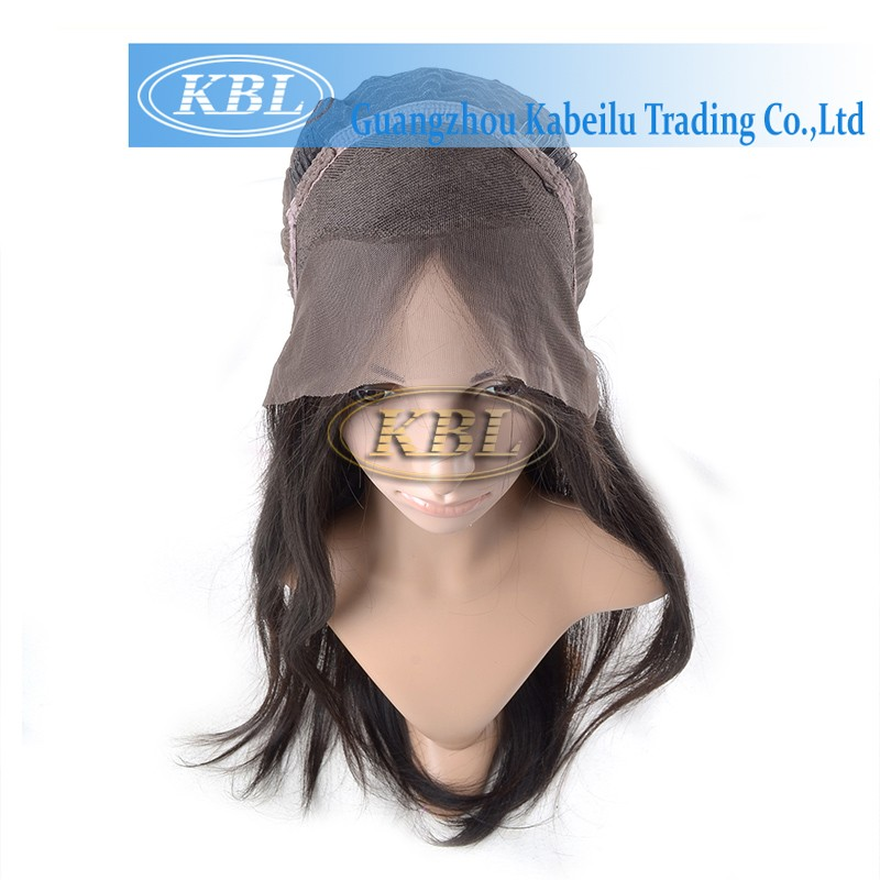 6A grade cheap virgin unprocessed indian women hair wig,quality wool scale hair frontal lace wig