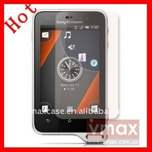 Moblie phone anti-glare screen protector for Sony Ericsson Xperia active