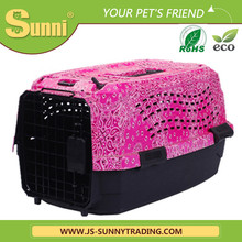 Wholesale customized personalise folding pet carrier plastic