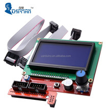 high quality lcd display 12864 lcd smart controller for raprep prusa i3 3d printer l101