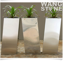 Modern Stainless Steel Garden Metal Flower Pot Wholesale