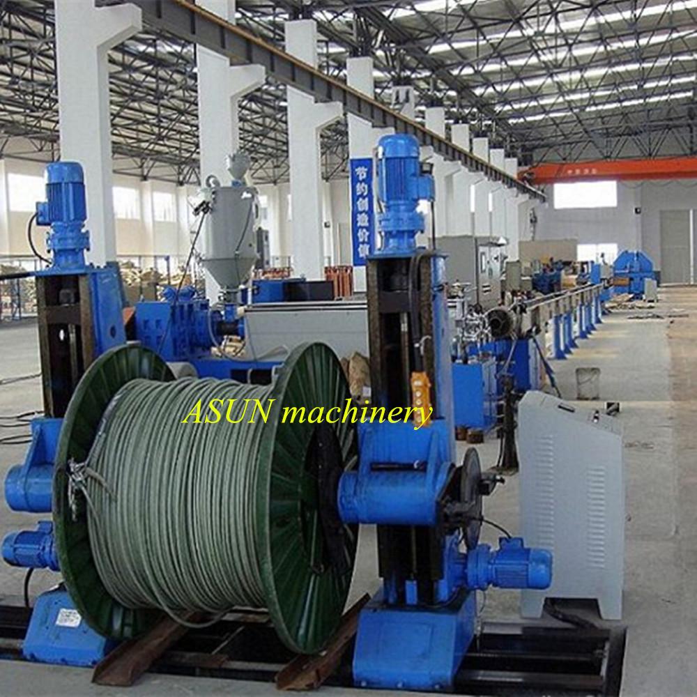 Pvc Ldpe Isolierung Kabel Draht Beschichtung Extruder - Buy Kabel ...