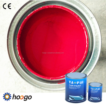 high quality 2K rose red automotive <strong>paint</strong>