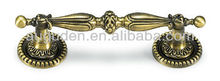 Door handle, antique brass handle, furniture handle