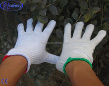 cheap cotton knit gloves safety equipment
