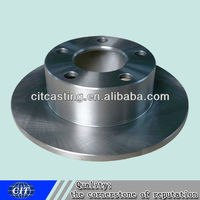 customized car part Shaft cover carbon steel forging CNC machining