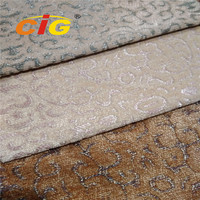Brocade Upholstery Fabric Used for Curtain, Cushion, Garment.