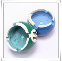 Billiard ashtray, promotional gift crystall ashtray