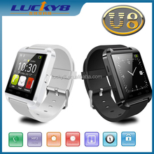 Hot sales U8 Smart Watch U8 Pro Bluetooth Phone Mate Smartwatch U Watch Wrist for Android for4 4S 5 5S