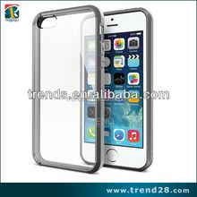 clear hard back armor hybrid ex slim case for iphone 5