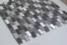 Brand new Metal Mosaic Tile Made In Foshan Mosaic with Aluminium material