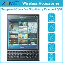 Shenzhen 0.26Mm Front Lcd Explosion-Proof Tempered Glass Film For Blackberry Passport Q30 High Clear Screen Protector