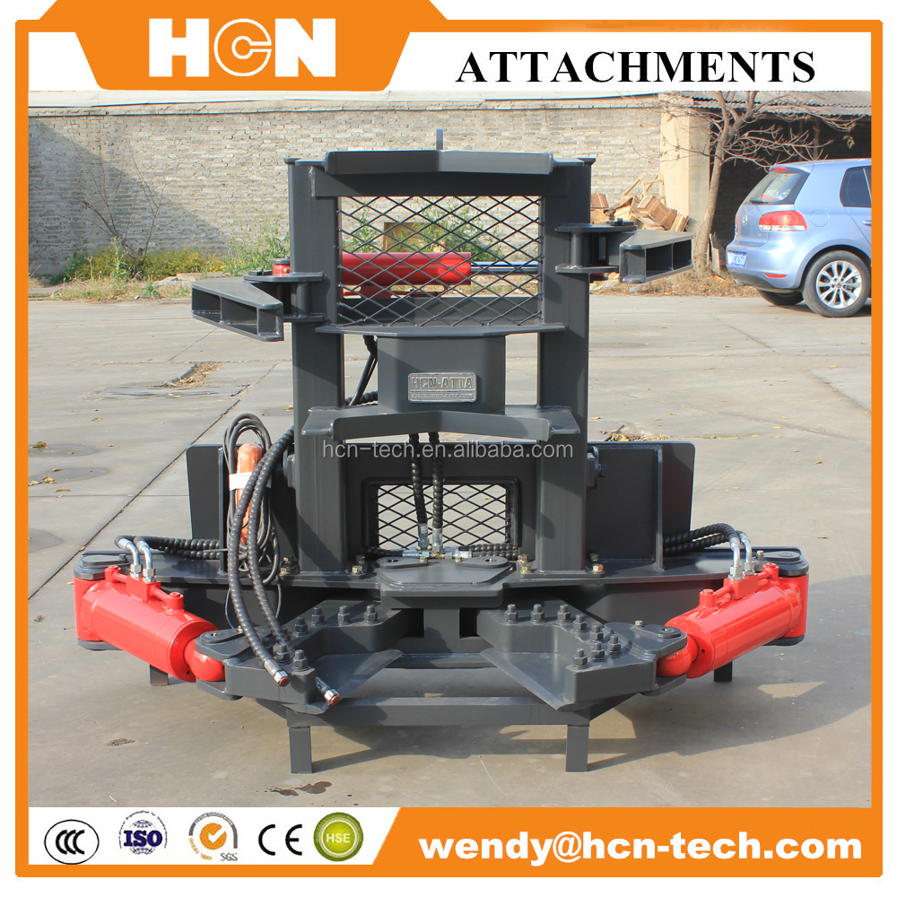 hot sell 0512 excavator attachment tree shear for sale