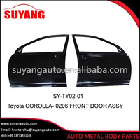 Iron Corolla Front Door For Aftermarket Toyota Auto Body Parts
