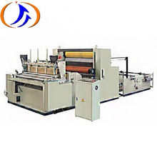 Full Automatic Toilet Paper Rewinding Machine For Sale, Toilet Tissue Paper Roll Rewinding Machine