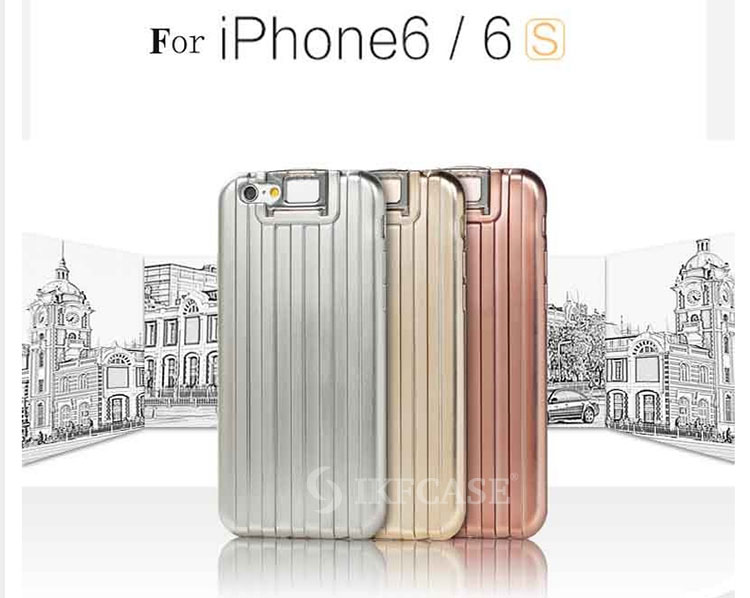 2016 new style dirtproof plating silicone mobile phone case cover for iphone 6 Plus 6S Plus